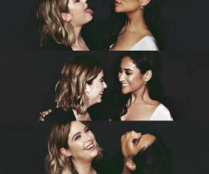 shay mitchell and ashley benson image