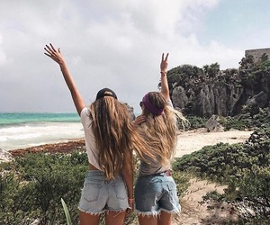 goals, friends, and beach image