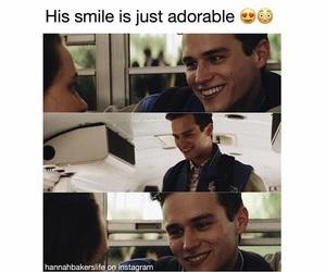 adorable, damn, and smile image