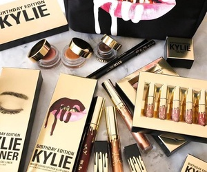 lipstick, make up, and kylie image