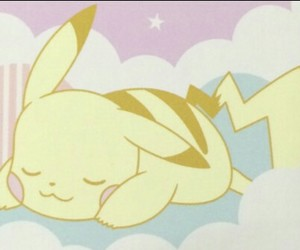 pastel, pikachu, and kawaii image