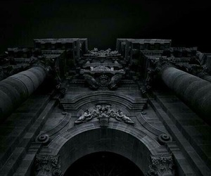 dark, architecture, and enchanted image