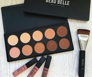 makeup, make up, and NYX image