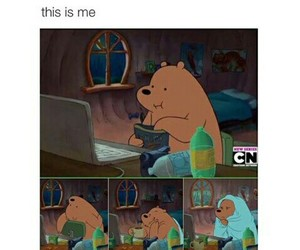 food series whiny bear image