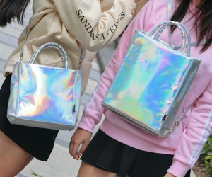 hologram, tote bag, and holodream image
