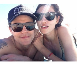 phoebe tonkin, paul wesley, and couple image