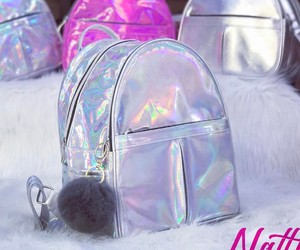 backpack, holographic, and hologram image