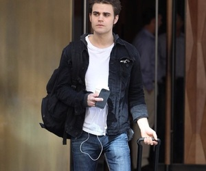 paul wesley, handsome, and tvd image