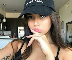 eyes, sexy, and girl image