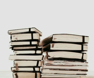 book, journal, and reading image