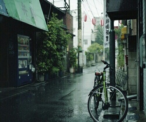 rain, street, and japan image