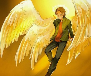 supernatural, angel, and gabriel image