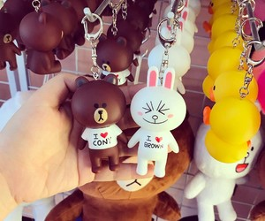 brown, sally, and linefriends image