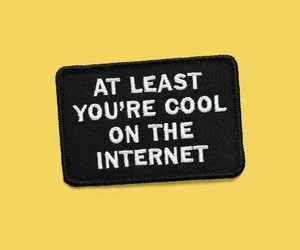 yellow, internet, and quotes image