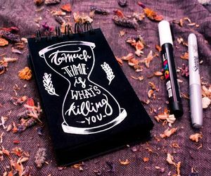 art, calligraphy, and handlettering image