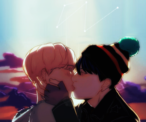 bookcover, k-pop, and sunset image