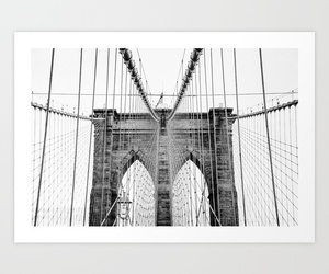 black and white, Brooklyn, and new york city image