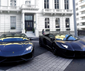 cars, expensive, and Lamborghini image