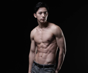 abs, korean, and kdrama image