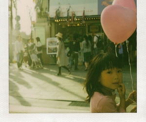 balloon, little girl, and child image