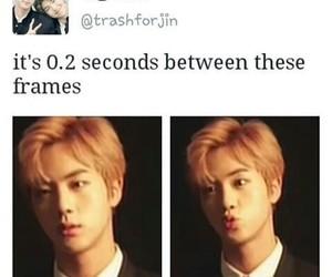 jin and bts memes image