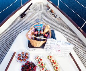 food, fruit, and sea image