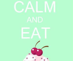 keep calm and sweet image