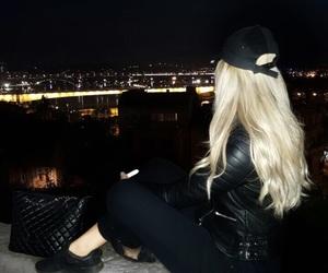 black, blond, and blondie image