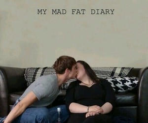 my mad fat diary, fat, and rae image