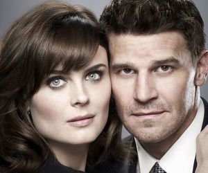 bones, booth, and emily deschanel image