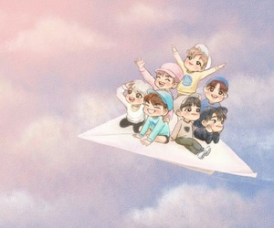 got7 and fanart fly image