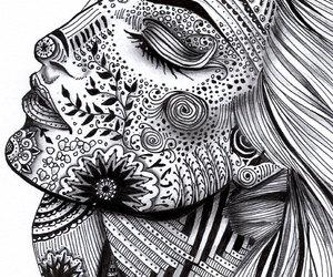 zentangle, art, and draw image