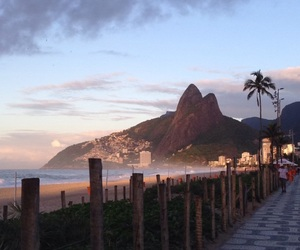 beach, beautiful places, and brazil image