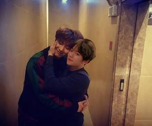 exo, chanyeol, and couple image