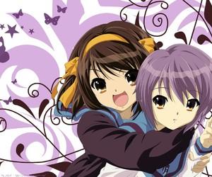 haruhi suzumiya and yuki nagato image