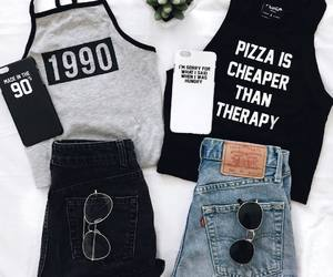 clothes, style, and tank top image