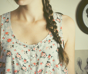 ballet, beautiful, and braid image
