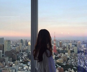 girl, city, and korean image