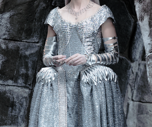 Emily Blunt, ice queen, and snow white image