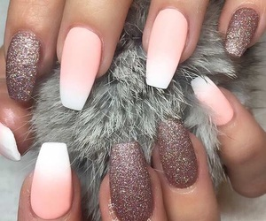 fluffy, nails, and grey image