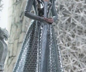 Emily Blunt, snow queen, and fantasy image