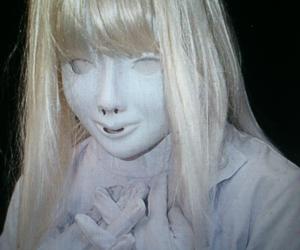creepy, face, and faceless image