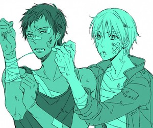 aomine, anime, and kuroko no basket image