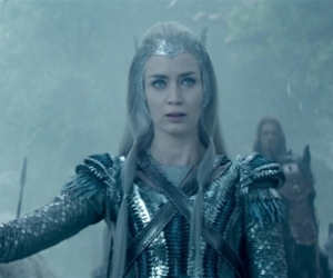 Emily Blunt, fantasy, and ice queen image