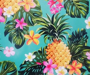exotic, hawaii, and pineapple image