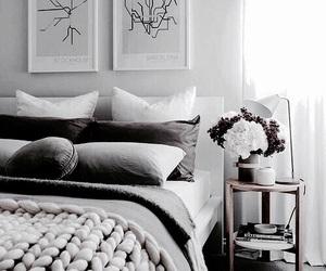bedroom, Scandinavian, and decoration image