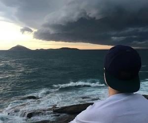 boy, tumblr, and ocean image