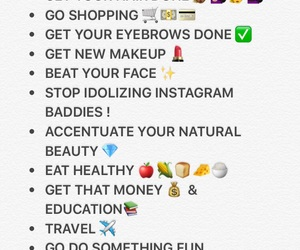 beauty, makeup, and money image