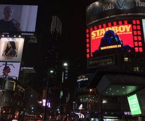 city, starboy, and the weeknd image