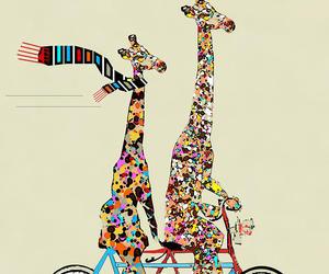 giraffe and jirafa image